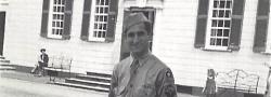1946. Der Autor im Lager Crowder, Joplin, Missouri.
