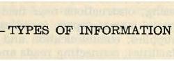 Auslistung der wichtigen Informationen für die OSS