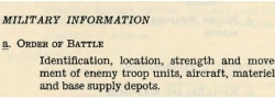 Militärische Informationen