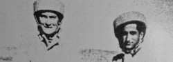 1943. Στην σχολή αλεξιπτωτιστών του SOE, στην Χαϊφα της Παλαιστίνης. Το κράνος που φορούσαν στην εκπαίδευση ήταν από παχύ καουτσούκ καλυμμένο με ένα ελαφρύ υλικό.