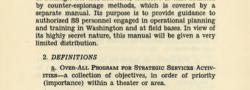 Εγχειρίδιο των Μυστικών Υπηρεσιών των Στρατηγικών Υπηρεσιών