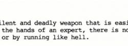 Οι χρήσης μαχαιριού Fairbairn όπως τις δίδαξαν ειδήμονες του SOE και του OSS