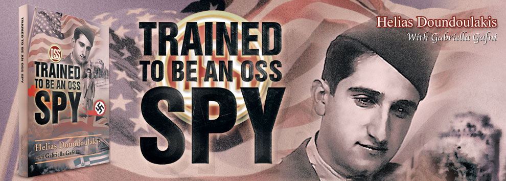 Trained to be an OSS Spy (Greek Edition)