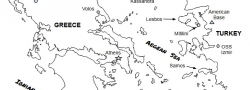 Festland Griechenland und West Türkei