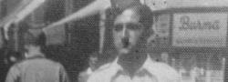 Juli, 1943. Helias Doundoulakis in Britischer Uniform, in Kairo.