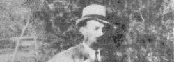 1944. Nicos Oreopoulos, ein Mitglied des Yiapitzoglou's inneren Kreises in Saloniki.