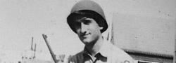 1946. Der Autor , Wachdienst im Lager Crowder, Missouri.