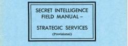 Ausbildungshandbuch des Secret Intelligence (SI), OSS