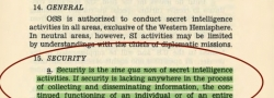 Die Geheimhaltungspflicht der Missionen